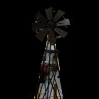 Molino de viento 9ft BASKET-HOOK