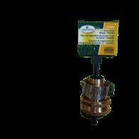 """Conector Terminación hermbra de Reparación para Manguera de bronce de 5/8"""", marca Landscapers."""