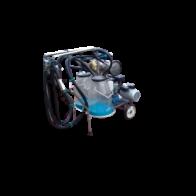 Ordenadora Portatil 2 puestos motor gasolina y eléctrico