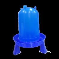 Bebedero Eco/Azul con Patas 5Lts Copele