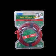 Cable exterior para perros  15'