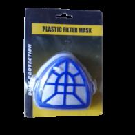 Mascarilla PVC c/filtro